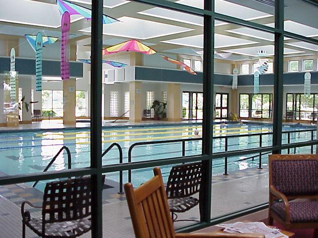 Indoor Lap Pool, Village Center Fitness Center, Sun City TX