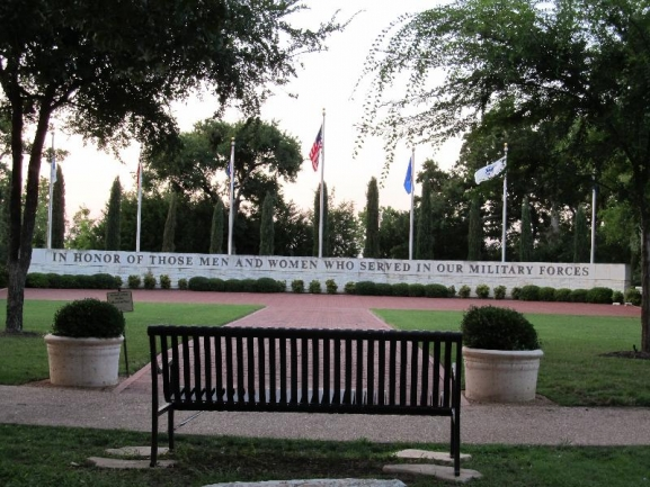 Williamson County Veterans Memorial Plaza, Sun City Texas