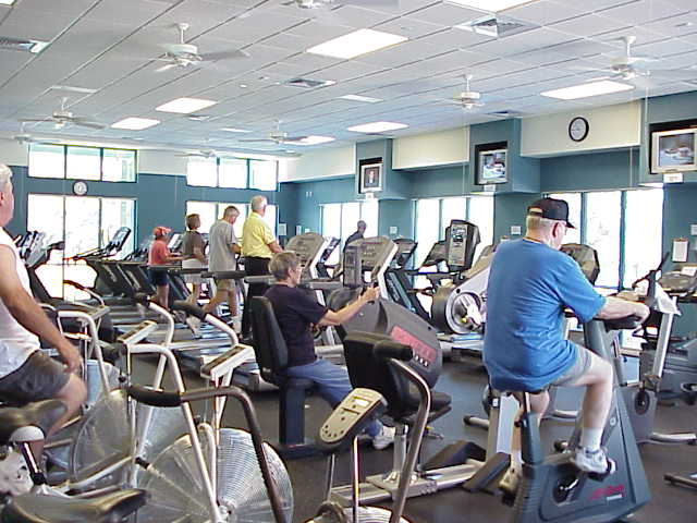 Fitness Center, Village Center, Sun City TX