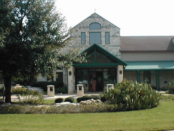 Sun City Social Center:  Ballroom, Library, Community Association Offices